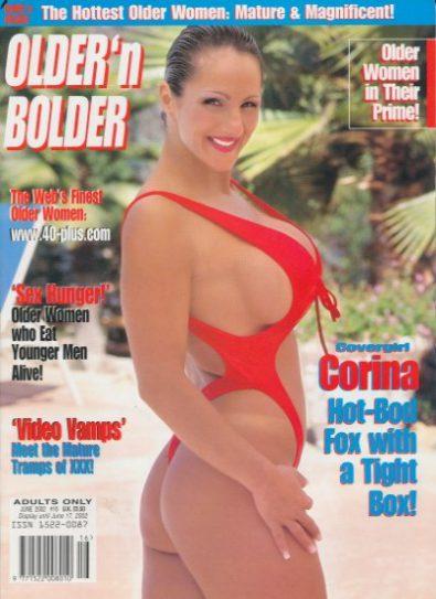 Front cover of Older n Bolder June 2002 magazine