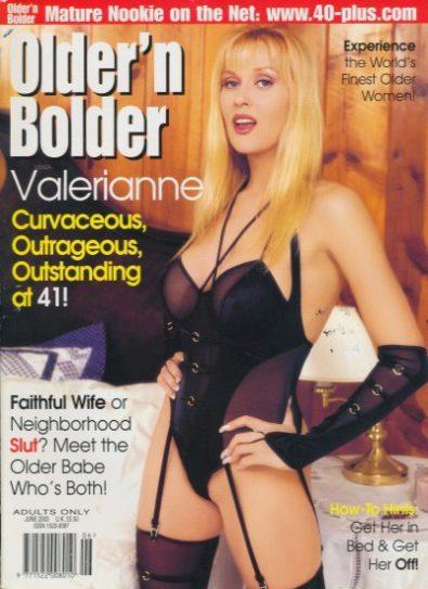 Front cover of Older n Bolder  June 2003 magazine