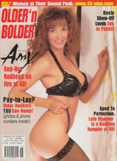 Front cover of Older n Bolder  October 2002 magazine