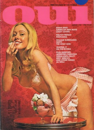 Front cover of Oui August 1973 magazine