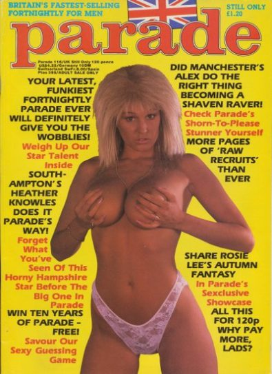 Front cover of Parade 116 magazine