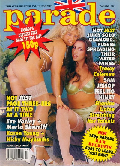 Front cover of Parade 252 magazine