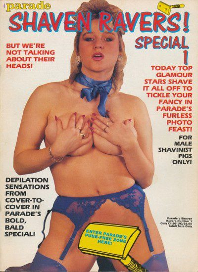 Front cover of Shaven Ravers Special 1 magazine