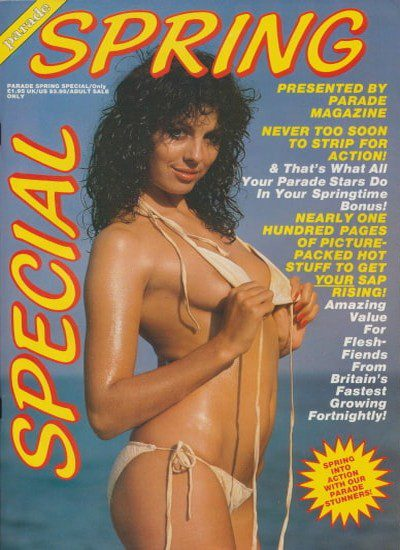 Front cover of Parade Spring Special 1989 magazine