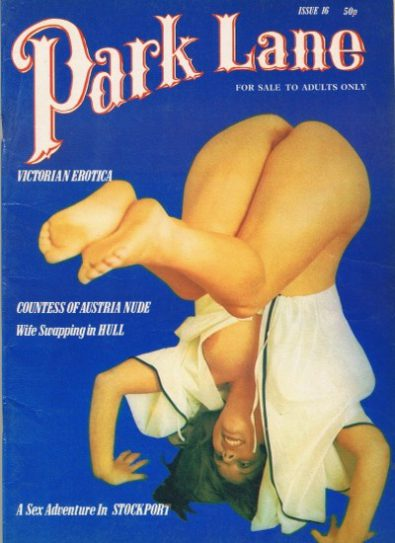 Front cover of Park Lane 16 magazine