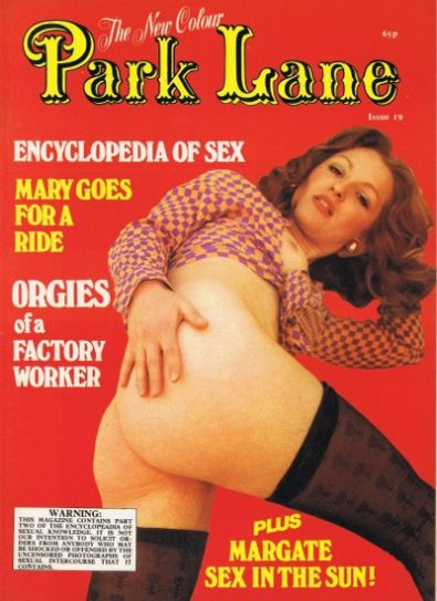 Front cover of Park Lane 19 magazine