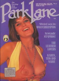Front cover of Park Lane 31 magazine