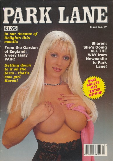 Front cover of Park lane 67 magazine