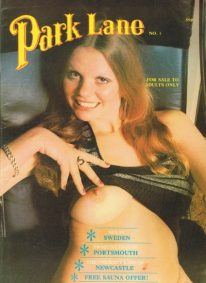 Front cover of Park Lane 7 magazine