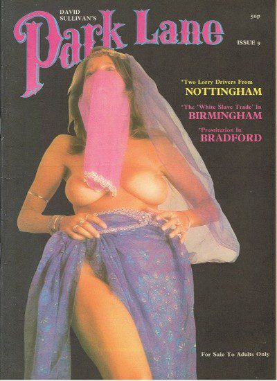 Front cover of Park Lane 9 magazine