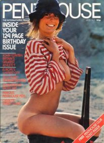 Front cover of Penthouse Volume 10 No 1 magazine