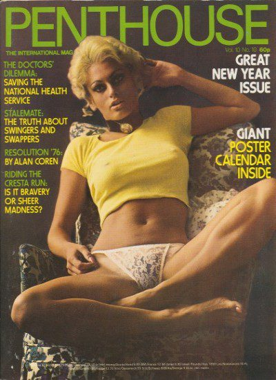 Front cover of Penthouse Volume 10 No 10 magazine
