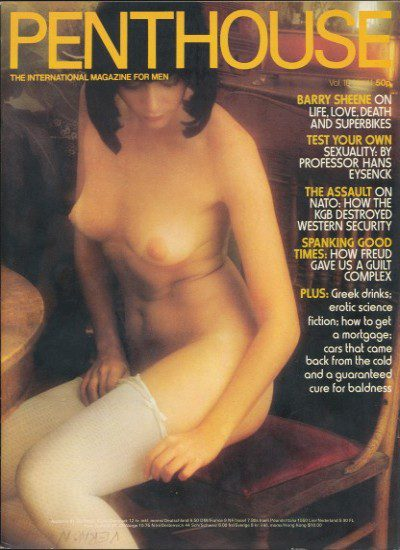 Front cover of Penthouse Volume 10 No 11 magazine