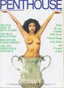 Front cover of Penthouse Volume 10 No 2 magazine
