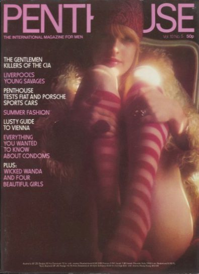 Front cover of Penthouse Volume 10 No 5 magazine