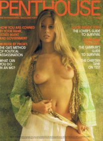 Front cover of Penthouse Volume 10 No 6 magazine