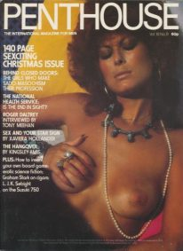 Front cover of Penthouse Volume 10 No 9 magazine