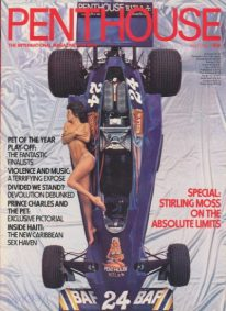 Front cover of Penthouse Volume 12 No 4 magazine