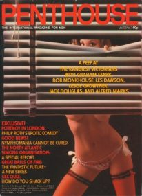 Front cover of Penthouse Volume 12 No 7 magazine