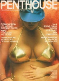 Front cover of Penthouse Volume 16 No 3 magazine