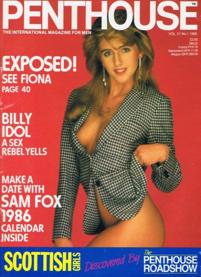 Front cover of Penthouse Volume 21 No 1 magazine