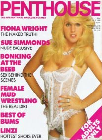 Front cover of Penthouse Volume 23 No 5 magazine