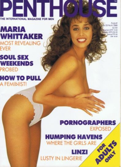 Front cover of Penthouse Volume 23 No 8 magazine