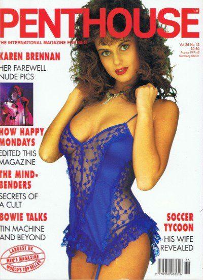 Front cover of Penthouse Volume 26 No 12 magazine