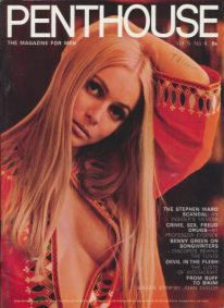 Front cover of Penthouse Volume 5 No 4 magazine
