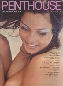 Front cover of Penthouse Volume 5 No 5 magazine