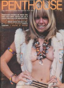 Front cover of Penthouse Volume 6 No 5 magazine