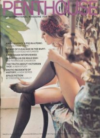 Front cover of Penthouse Volume 6 No 8 magazine