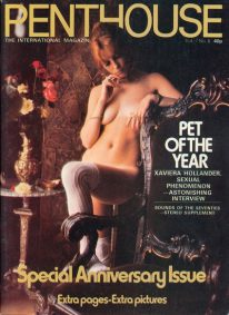 Front cover of Penthouse Volume 7 No 6 magazine