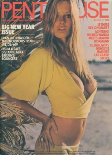 Front cover of Penthouse Volume 8 No 10 magazine