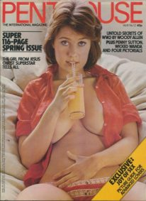 Front cover of Penthouse Volume 8 No 12 magazine