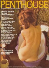 Front cover of Penthouse Volume 8 No 6 magazine