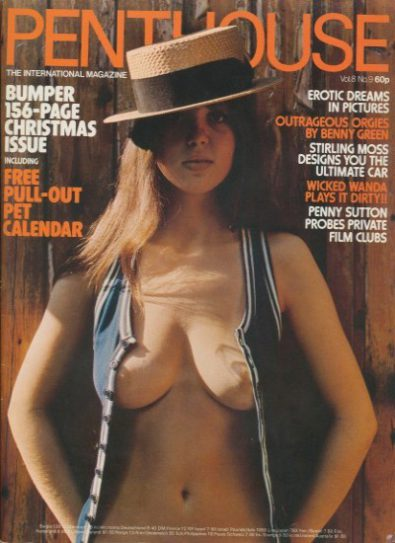 Front cover of Penthouse Volume 8 No 9 magazine