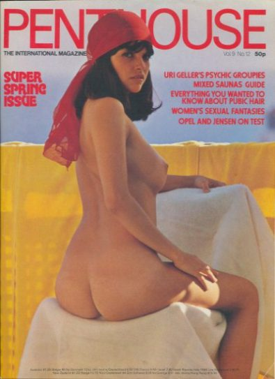 Front cover of Penthouse Volume 9 No 12 magazine