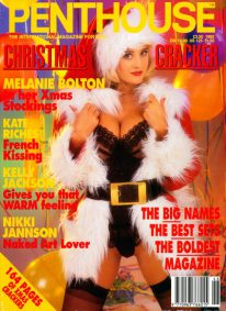 Front cover of Penthouse Christmas 1992 magazine