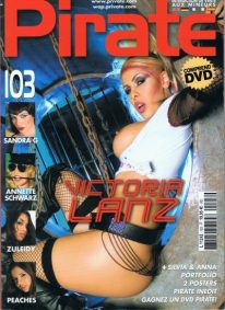 Front cover of Pirate 103 magazine