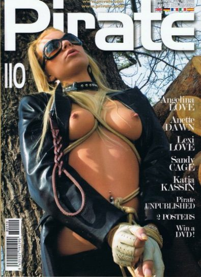 Front cover of Pirate 110 magazine