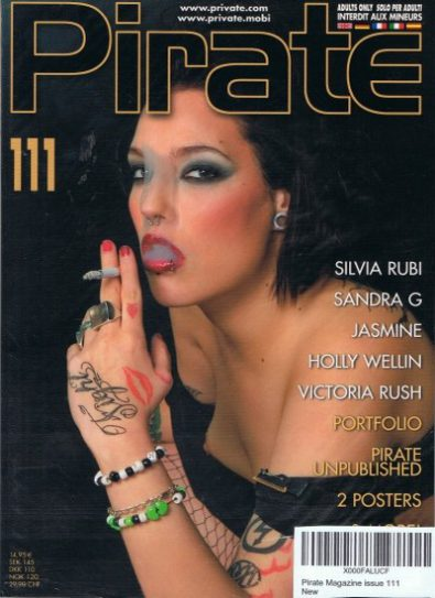 Front cover of Pirate 111 magazine