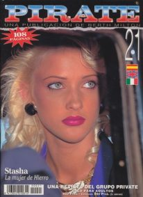 Front cover of Pirate 21 magazine