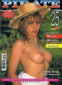 Front cover of Pirate 25 magazine