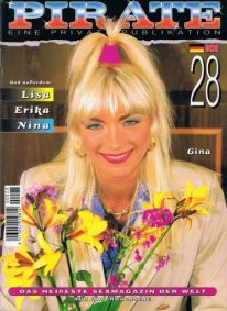 Front cover of Pirate 28 magazine