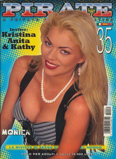 Front cover of Pirate 35 magazine