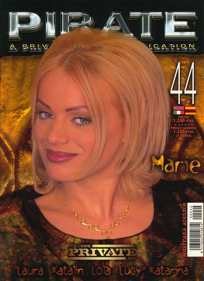 Front cover of Pirate 44 magazine