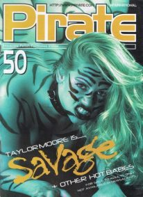 Front cover of Pirate 50 magazine