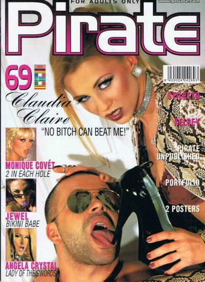 Front cover of Pirate 69 magazine