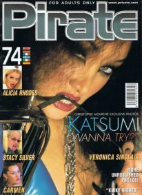 Front cover of Pirate 74 magazine